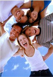 Группа - это весело! Группа - это коммуникации! Группа - это общество! Образуйте группу и прекратите быть жалким! - Л. Рон Хаббард