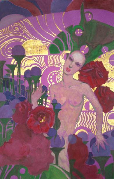 Фиолетовая дама