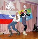 Маша Левкова, Лена Романова и Аня Пименова с песней Про медведей