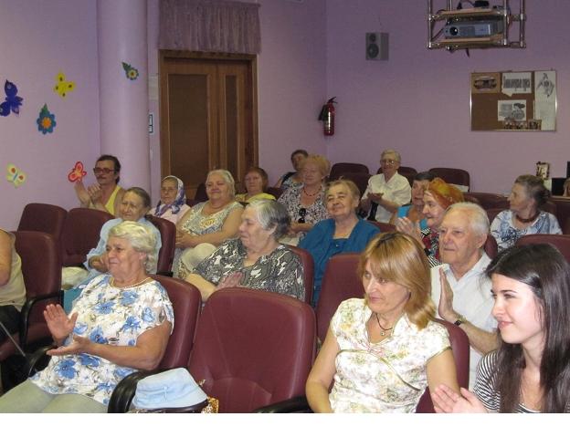 Ветераны КЦСО (комплексный центр социального обеспечения) «Гольяново»